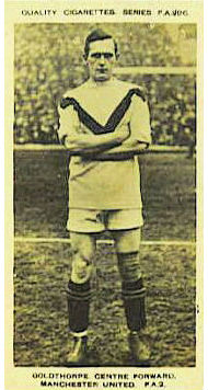 Ernie Goldthorpe Cigarette Card 1923