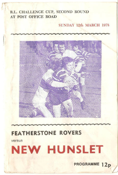 Featherstone Rovers v New Hunslet