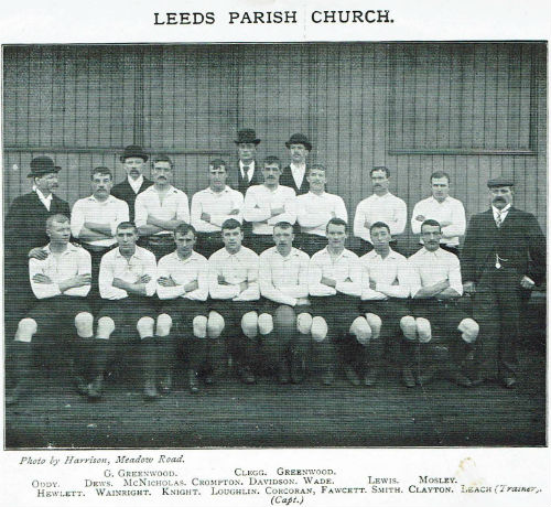 Leeds Parish Church Rugby Team