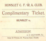 Complimentary Ticket
